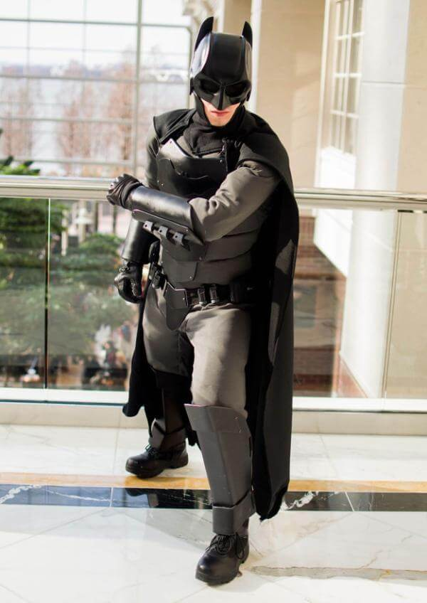 Cosplay, Batman's suit